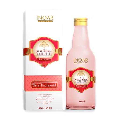 INOAR Natural Oil: Aceite de rosa imperial