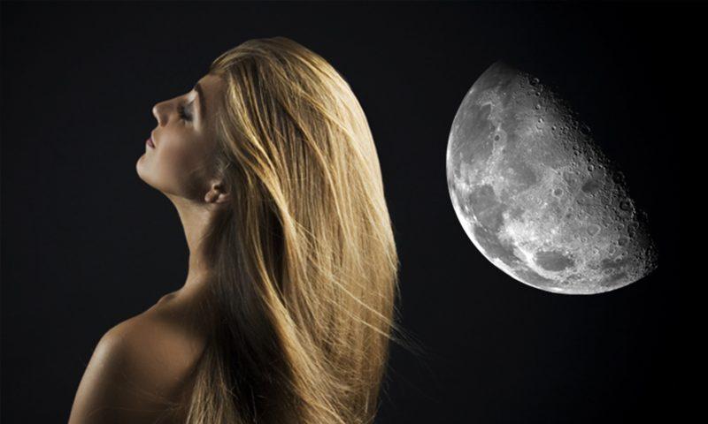 Influencia de la luna en el cabello