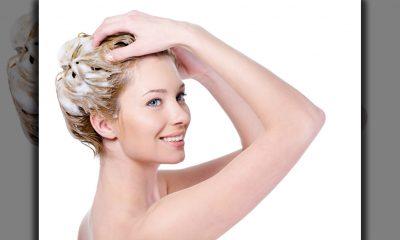 Lavar cabello graso
